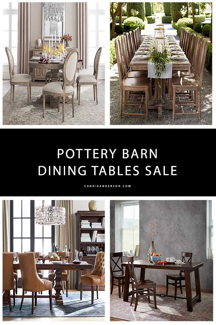 Widely Used Chapman Round Marble Dining Tables Intended For 15 Best Pottery Barn Dining Tables On Sale! (#30 of 30)