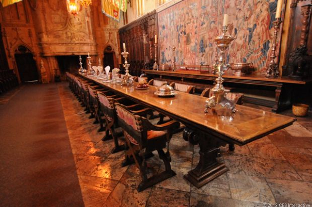 Widely Used Hearst Bar Tables Inside Inside Hearst Castle, America's Favorite Palace (pictures (View 12 of 20)