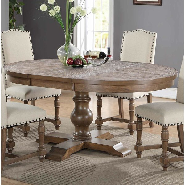 Widely Used Modern Farmhouse Extending Dining Tables Throughout Broadway Extendable Dining Table (#30 of 30)