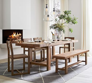 Widely Used Reed Extending Dining Tables Inside Reed Extending Dining Table #potterybarn #dining #extending (View 5 of 30)