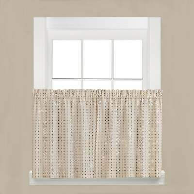 Window Treatment Hardware, Window Treatments & Hardware For Porch & Den Lorentz Silver 24 Inch Tier Pairs (View 22 of 30)