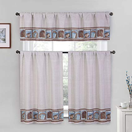 Windows Curtain – Dichvusonnha Within Cotton Blend Grey Kitchen Curtain Tiers (View 47 of 47)