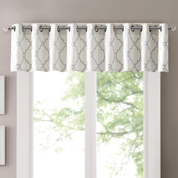 Popular Photo of Luxury Light Filtering Straight Curtain Valances