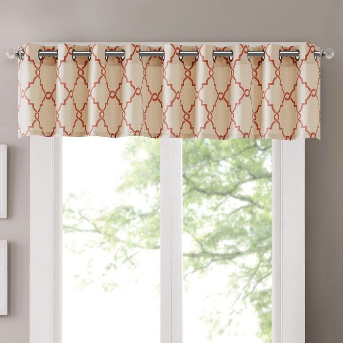 Winnett Light Filtering 50 Curtain Valance In 2019 | Cindy's Inside Light Filtering Kitchen Tiers (View 23 of 50)