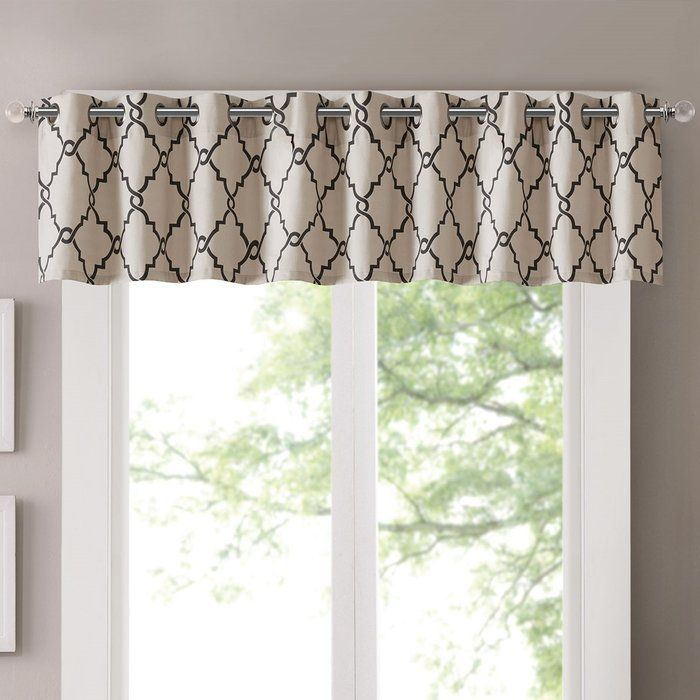 Winnett Light Filtering 50 Curtain Valance In 2019 In Light Filtering Kitchen Tiers (#49 of 50)