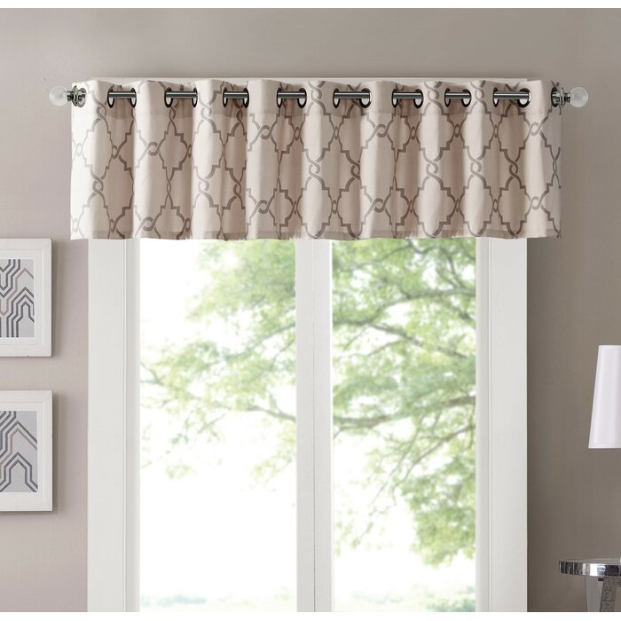 Winnett Light Filtering 50 Curtain Valance Regarding Luxury Light Filtering Straight Curtain Valances (View 29 of 47)