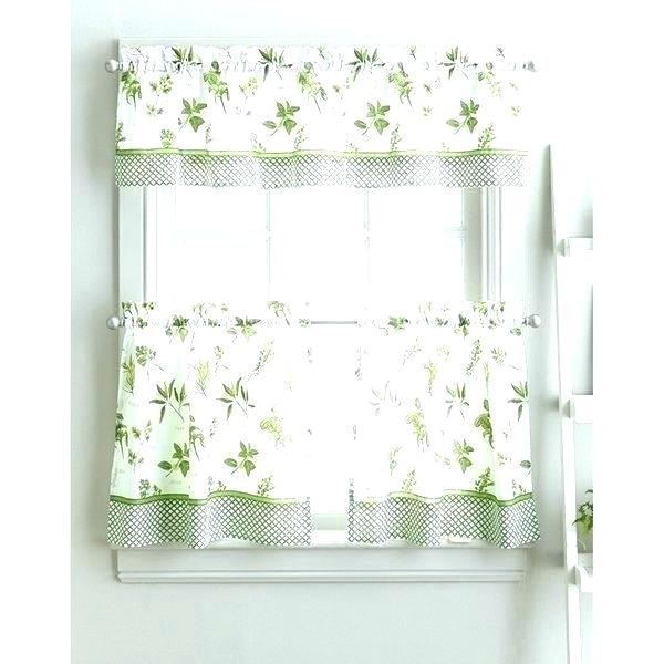Winsome 3 Piece Kitchen Curtain Sets Kitchenaid Mixer For Scroll Leaf 3 Piece Curtain Tier And Valance Sets (View 42 of 50)