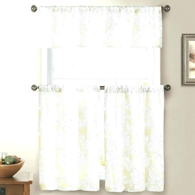 Winsome 3 Piece Kitchen Curtain Sets Kitchenaid Mixer With Delicious Apples Kitchen Curtain Tier And Valance Sets (View 12 of 30)