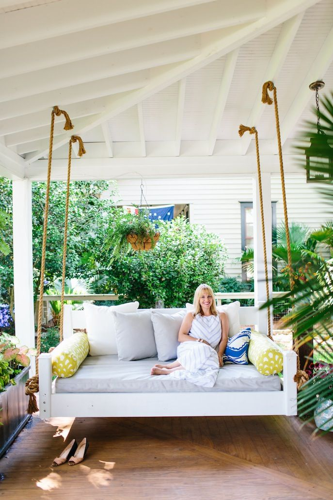 20 Effortless Porch Swing Ideas Building Utmost Beautiful Pertaining To Porch Swings (#1 of 20)