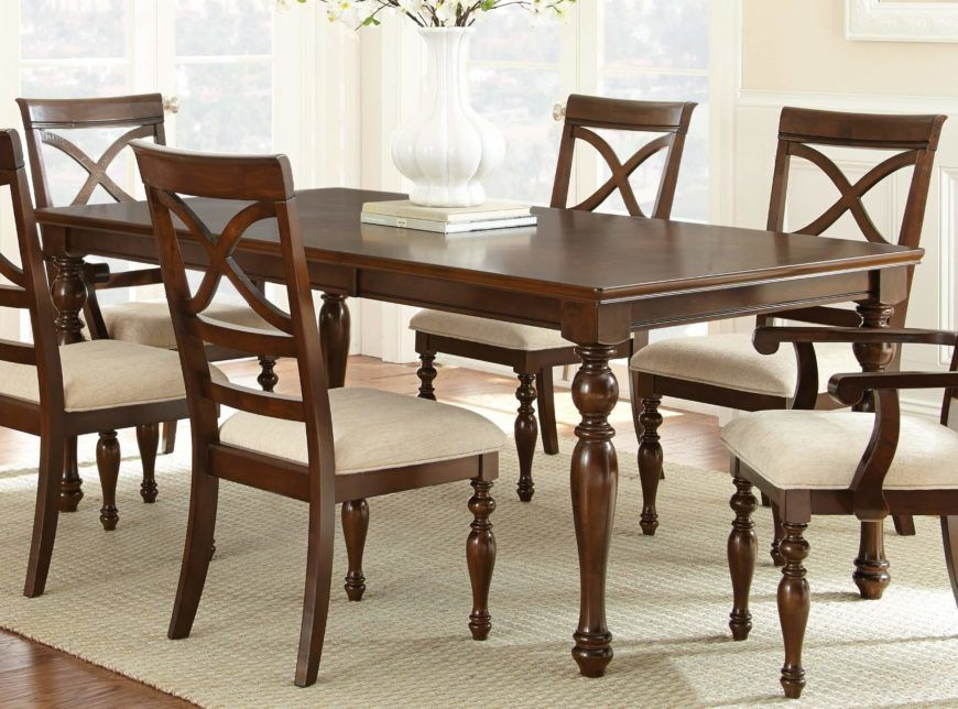 20 Wood Rectangle Dining Tables That Seats 6 Under $500 For Most Recent Coaster Contemporary 6 Seating Rectangular Casual Dining Tables (View 9 of 20)