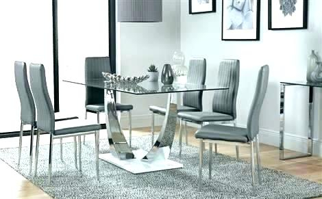 2019 Glass Top Condo Dining Tables Intended For Dining Table For Small Condo – Acrepairmiamibeach (#1 of 20)