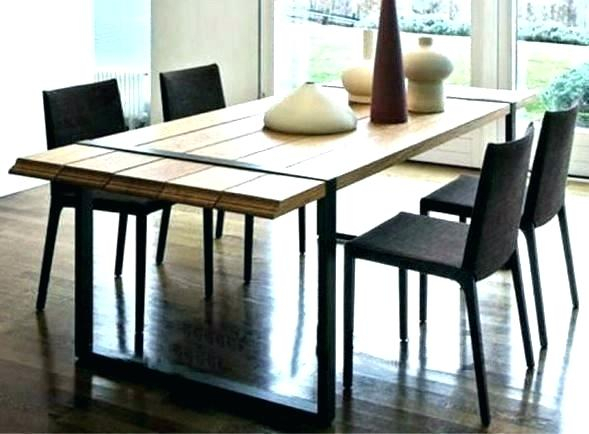 2019 Iron Wood Dining Tables Pertaining To Wrought Iron Wood Dining Table – Doglar (#1 of 20)