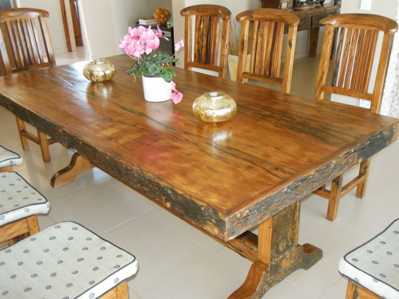 2019 Ysterhout (Ironwood) 8 Seater Dining Table And Chairs (#3 of 20)