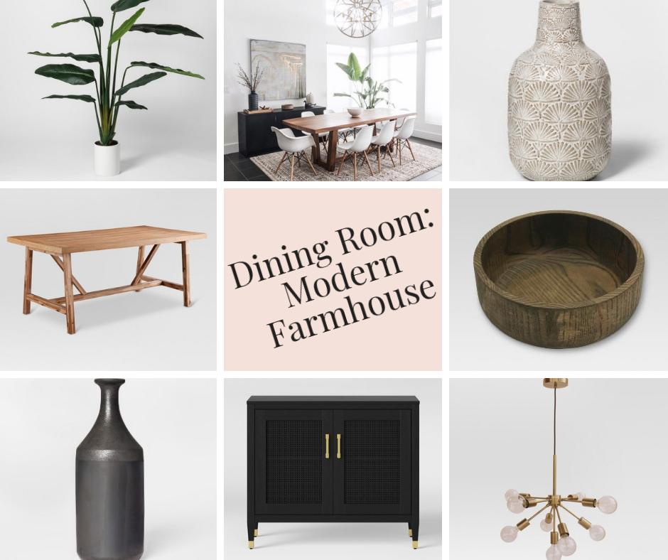 Inspiration about 2020 2019 Modern Farmhouse Dining Room Ideas And Inspiration L Regarding Artefac Contemporary Casual Dining Tables (#6 of 20)