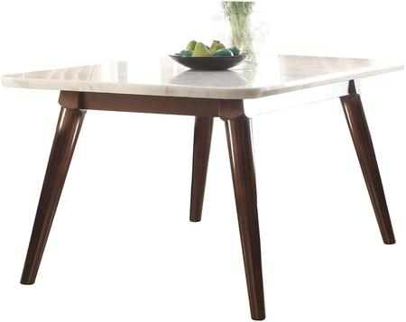 Inspiration about 2020 Acme Furniture 72820 Intended For Mid Century Rectangular Top Dining Tables With Wood Legs (#8 of 20)