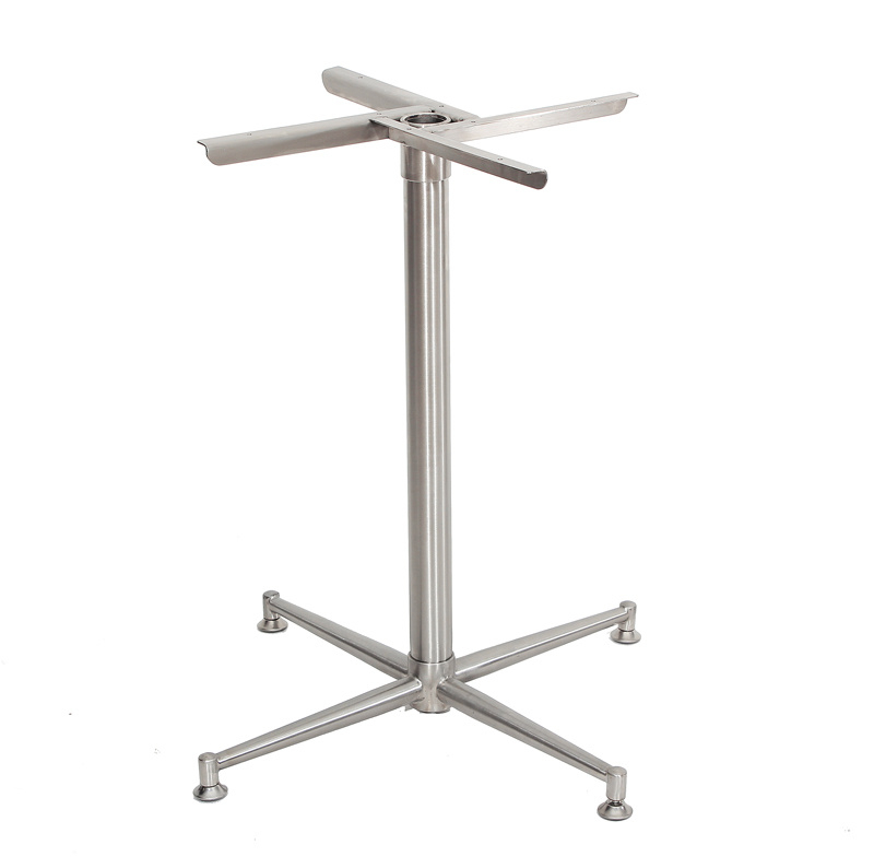 2020 Dining Tables With Brushed Stainless Steel Frame Within China Brushed Stainless Steel Dining Table Frame – China (#2 of 20)