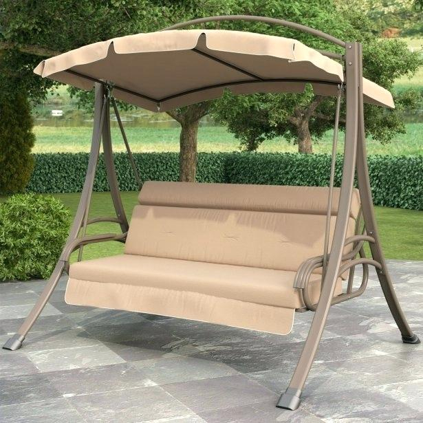 3 Person Porch Swing 3 Person Outdoor Porch Swing With Within Patio Gazebo Porch Swings (View 13 of 20)