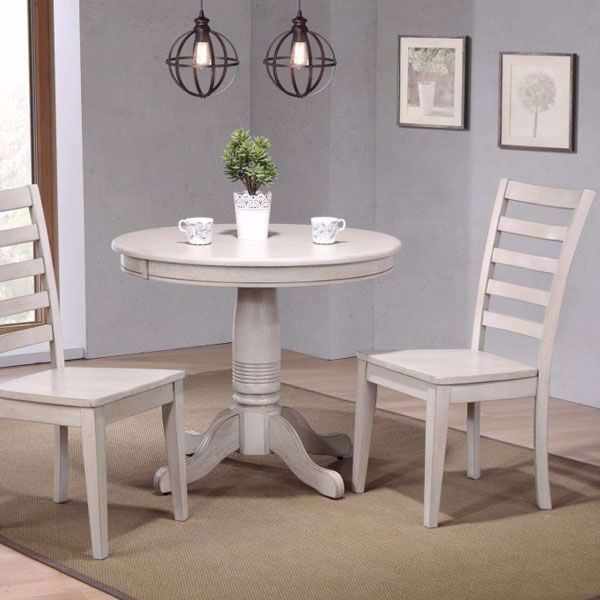 3 Pieces Dining Tables And Chair Set Inside Well Known Carmel 3 Piece Dining Room Set (View 8 of 21)