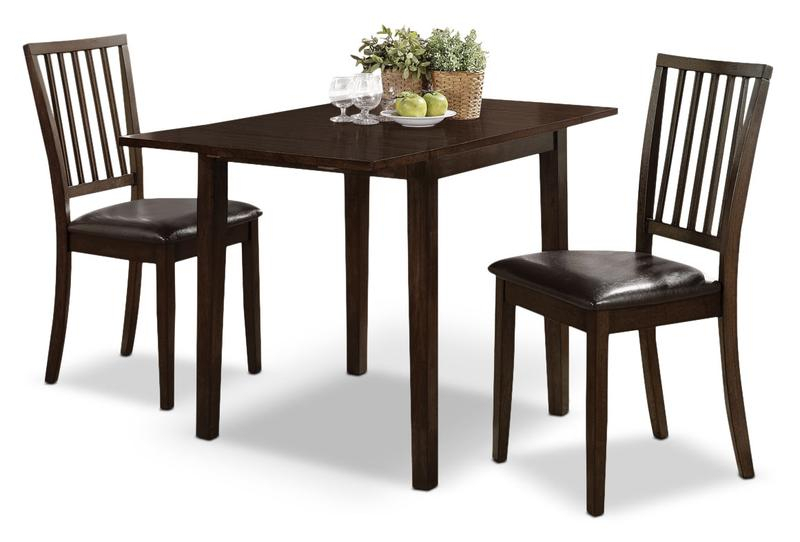 Popular Photo of 3 Pieces Dining Tables And Chair Set