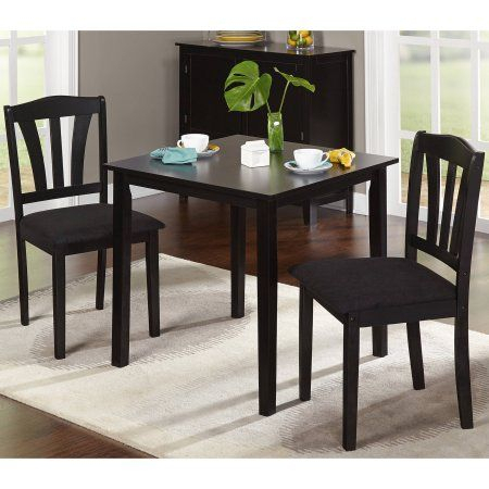3 Pieces Dining Tables And Chair Set With 2020 Home In  (View 10 of 21)