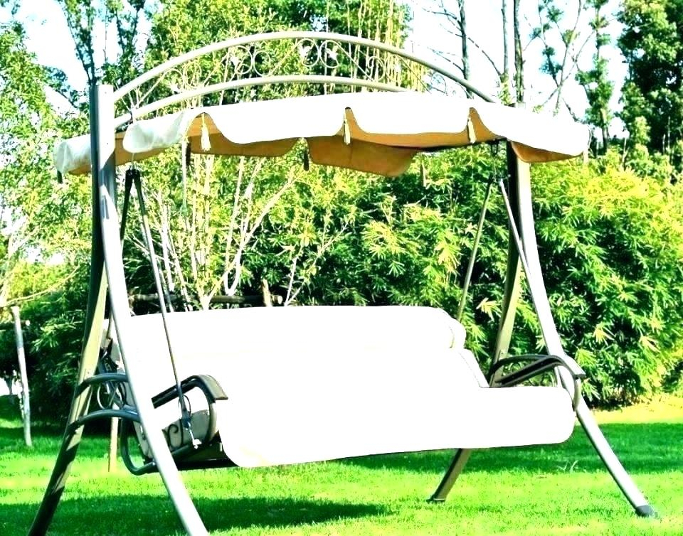 Inspiration about 3 Seat Patio Swing – Utahcorporateresponsibility Regarding 3 Seat Pergola Swings (#15 of 20)