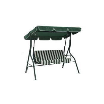 Inspiration about 3 Seater Steel Frame Patio Garden Canopy Swing Chair With Cushions – Buy  Patio Swing Chair,garden Swing Chair,swing Chair Product On Alibaba Throughout 3 Seater Swings With Frame And Canopy (#7 of 20)