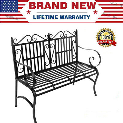 47x3x35inch Wicker Glider Swing Chair Rocking Gliding Seat With Black Outdoor Durable Steel Frame Patio Swing Glider Bench Chairs (View 14 of 20)