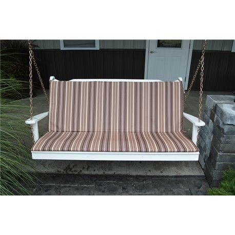 Inspiration about 5 Ft Glider, Swing, & Bench Cushion Throughout Glider Benches With Cushions (#15 of 20)