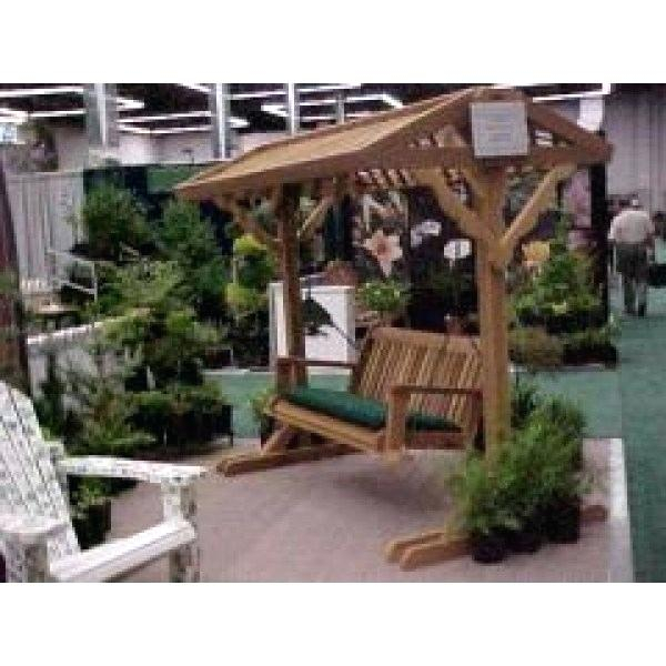 5 Wooden Porch Swing – Solariz With Regard To Patio Porch Swings With Stand (View 10 of 20)
