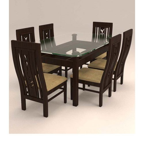 6 Seater Retangular Wood Contemporary Dining Tables With Most Popular Modern 6 Seater Dining Table Set (View 9 of 20)