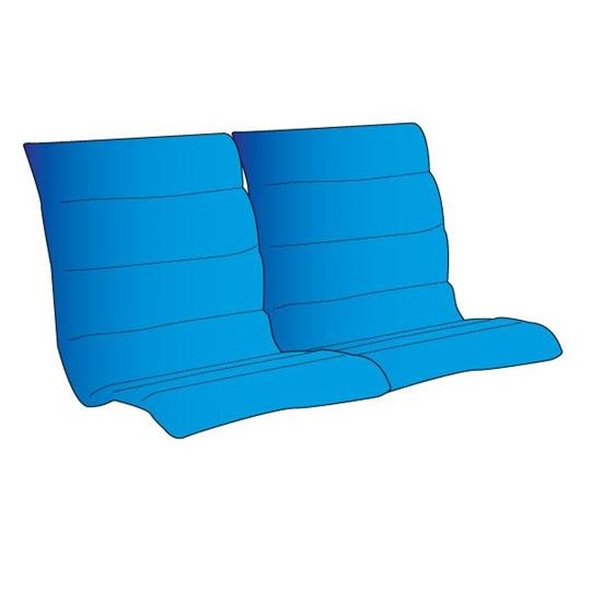 75250G Standard Loveseat Glider Padded Sling With Padded Sling Loveseats With Cushions (#1 of 20)
