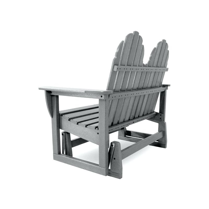 Adirondack Glider Chairs – Fbfortunes With Classic Adirondack Glider Benches (View 11 of 20)