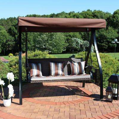 Adjustable Canopy Tilt – Porch Swings – Patio Chairs – The In 2 Person Adjustable Tilt Canopy Patio Loveseat Porch Swings (View 15 of 20)