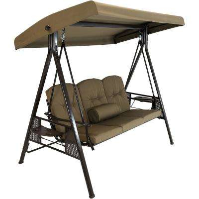 Adjustable Canopy Tilt – Porch Swings – Patio Chairs – The Regarding 2 Person Adjustable Tilt Canopy Patio Loveseat Porch Swings (View 11 of 20)