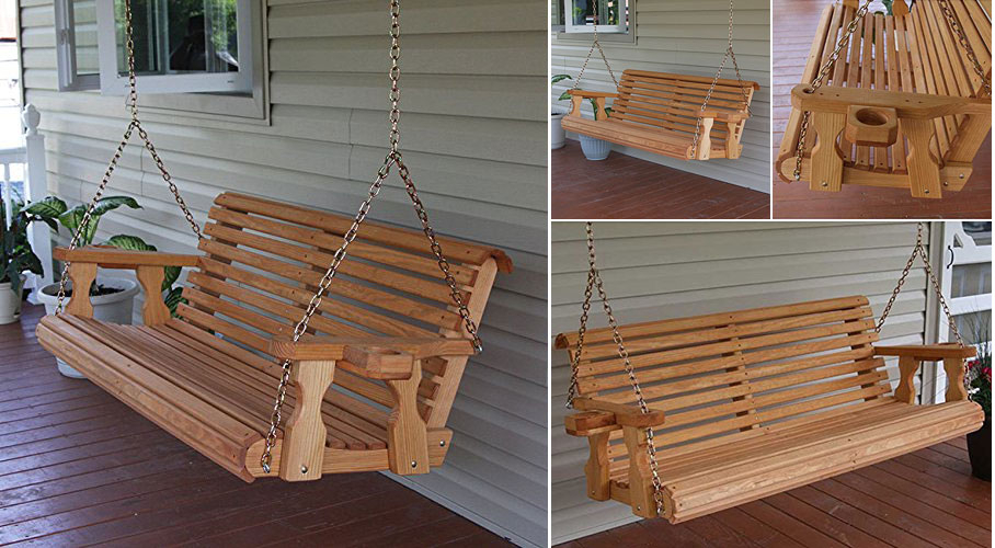 Amish Porch Swing – Really Cool Chairs With Bristol Porch Swings (View 17 of 20)