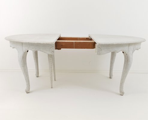 Antique Rococo Extension Dining Table Inside Recent Extension Dining Tables (#1 of 20)
