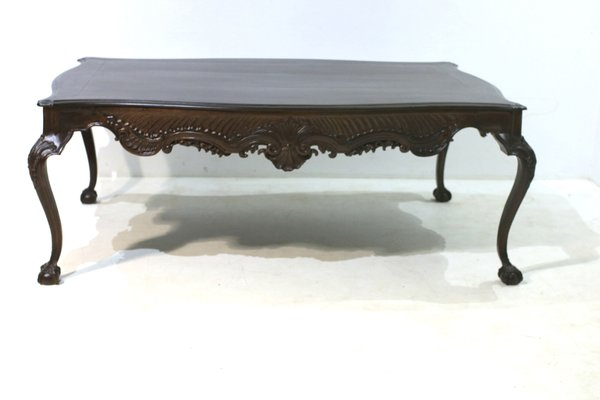 Antique Walnut Dining Table With Regard To Newest Walnut And Antique White Finish Contemporary Country Dining Tables (#3 of 20)