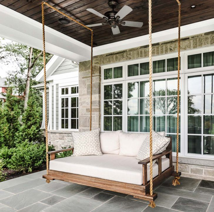 Architecture Modern Daybeds Hanging Daybed Porch Swing Throughout Day Bed Porch Swings (#3 of 20)