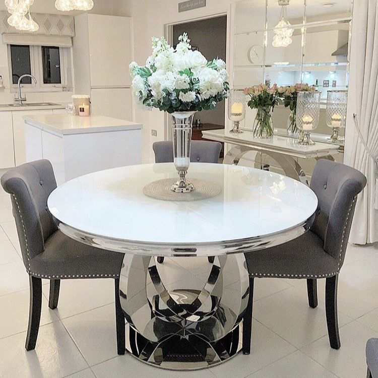 Inspiration about Aries Round Dining Table Intended For Fashionable Round Dining Tables (#8 of 20)
