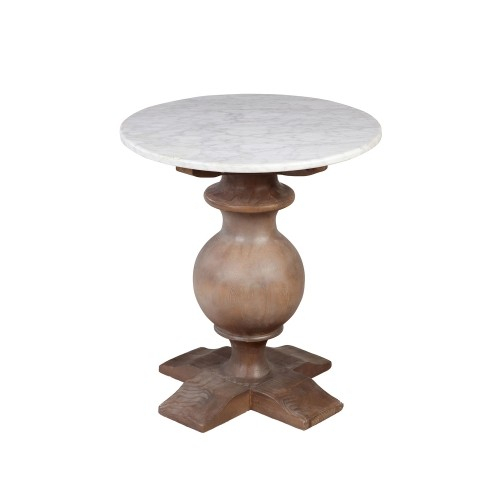 Athena Round Side Table  (#3 of 20)