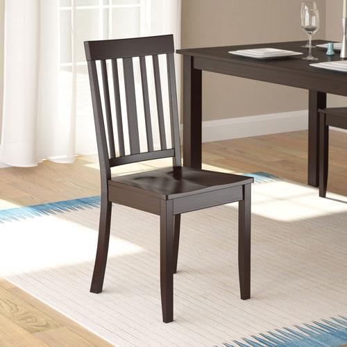 Atwood Transitional Square Dining Tables Inside Most Popular Atwood Transitional Dining Chair – Set Of 2 – Rich Cappuccino (View 21 of 21)