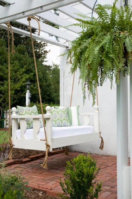 Avari Bed Porch Swing From Vintage Porch Swings – Charleston With Regard To Classic Porch Swings (View 10 of 20)