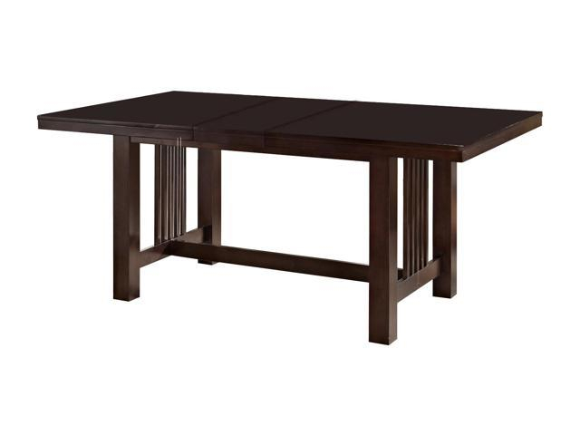 Popular Photo of Wood Kitchen Dining Tables With Removable Center Leaf