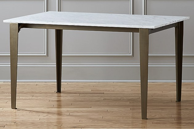 Best And Newest How To Buy A Dining Or Kitchen Table And Ones We Like For Regarding Thick White Marble Slab Dining Tables With Weathered Grey Finish (#4 of 20)