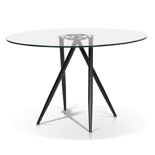 Best And Newest Round Glass Top Dining Table Within Round Glass Top Dining Tables (View 15 of 20)