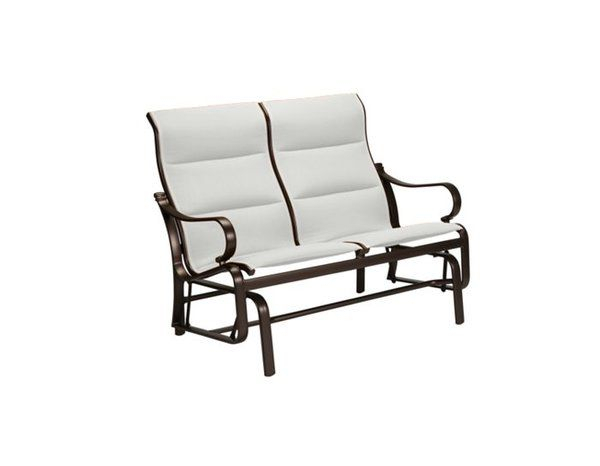 Best Famous Torino Padded Sling Double Glider Chair With Throughout Padded Sling Double Glider Benches (View 10 of 20)