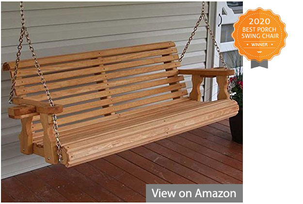 Best Porch Swing Chairs Reviews And Buyers Guide For Contoured Classic Porch Swings (View 16 of 20)