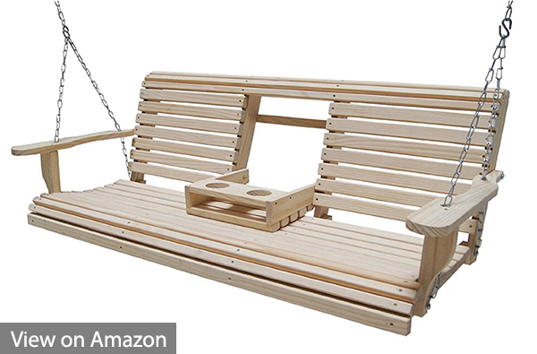 Best Porch Swing Chairs Reviews And Buyers Guide Inside 5 Ft Cedar Swings With Springs (View 20 of 20)