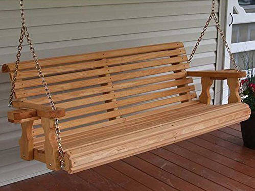 Best Porch Swing Chairs Reviews And Buyers Guide Regarding 5 Ft Cedar Swings With Springs (View 5 of 20)