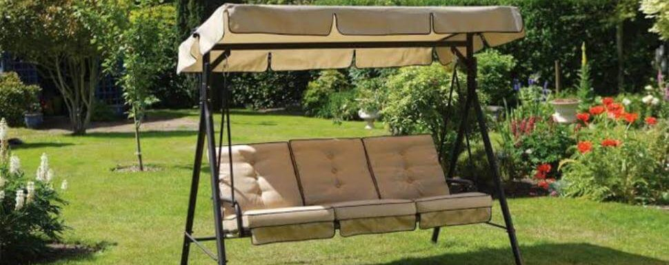 Best Porch Swing With Canopy 2020 Reviews & Buyer's Guide In 2 Person Outdoor Convertible Canopy Swing Gliders With Removable Cushions Beige (View 11 of 20)